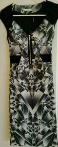 NWT Karen Millen Art Deco Dress Size 2